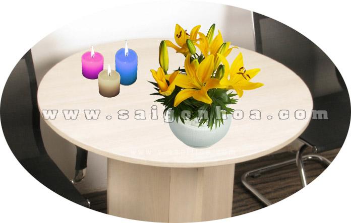 chau hoa lily vang 3