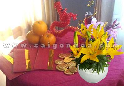 Hoa Lily Tet