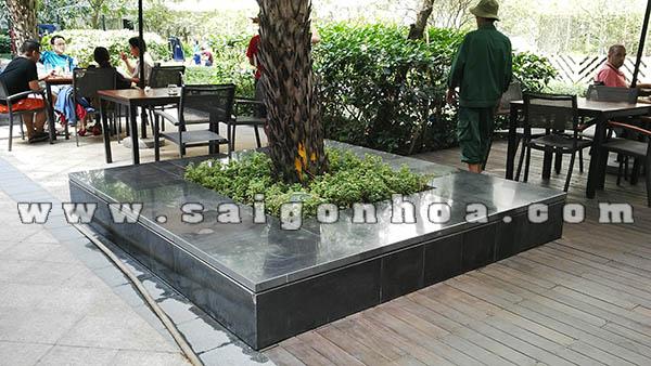Da Granite Op Bon Cay Xanh