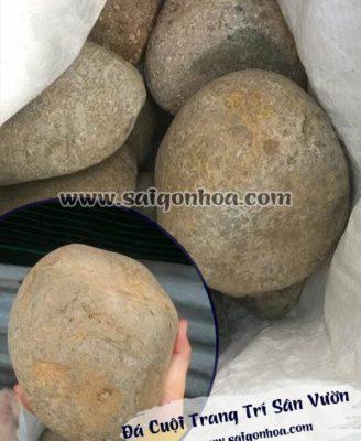 Da Cuoi Trang Tri San Vuon 1