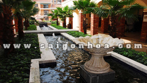 Toscana, water feature