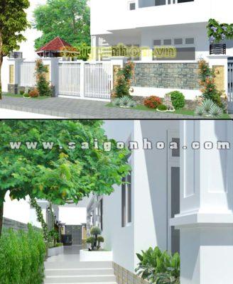 San Vuon Biet Thu Nha Chi Thao