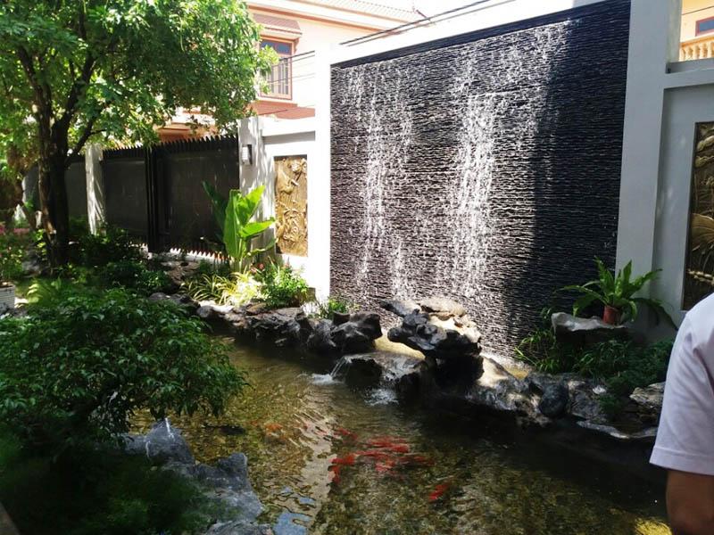 10 Tiểu Cảnh Nước Tuyệt Đẹp Cho Sân Vườn