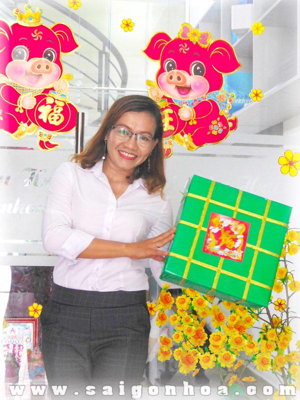 Banh Chung Mo Hinh