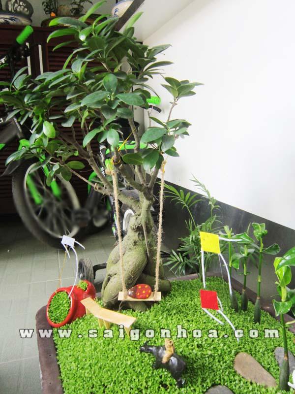Buc Hoa Dong Que Xich Du 2