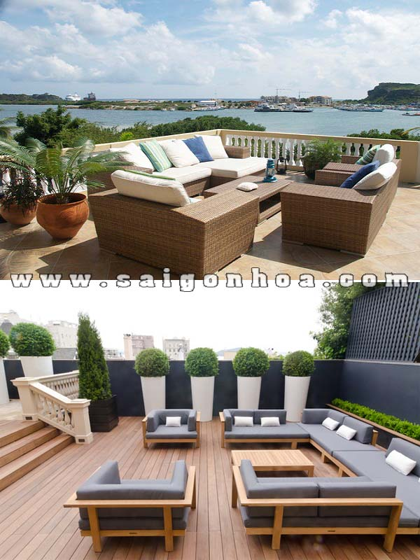 patio dep cho san thuong