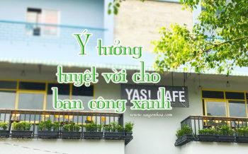 Tao Mang Xanh Ban Cong