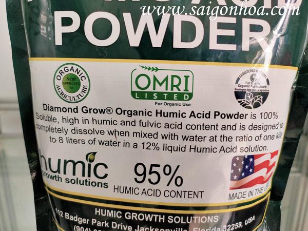 Phân Hữu Cơ Humic Acid Powder