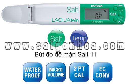 bút đo độ mặn Horiba Salt 11