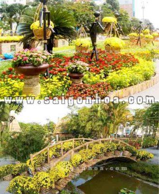 Tieu Canh Tet Danh Cho Khu Vui Choi Resort Cong Vien