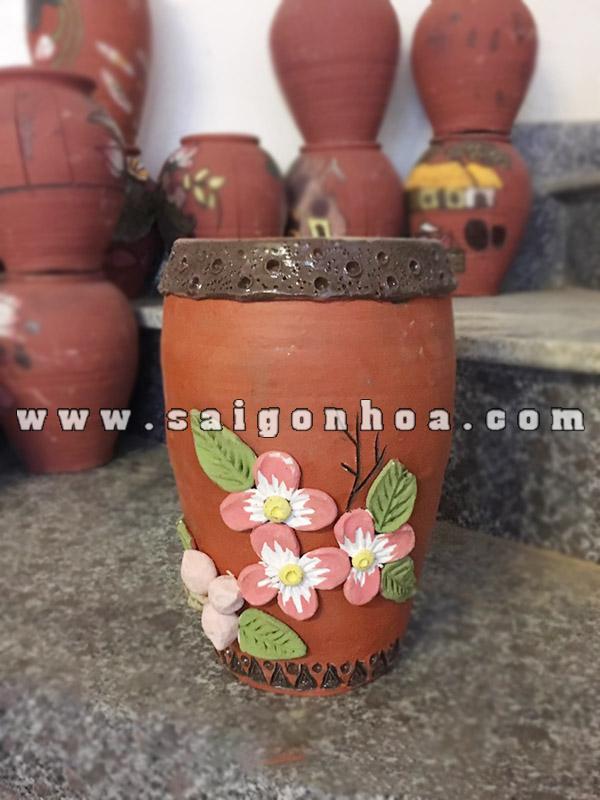 Binh Cam Hoa Bang Dat Nung