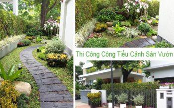 Tieu Canh San Vuon Mang Den Suc Song Moi