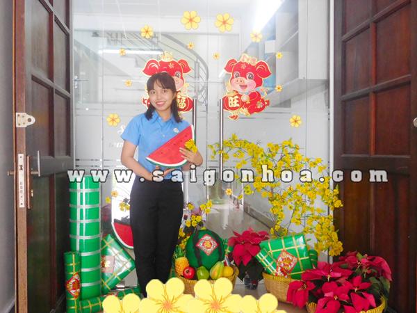 Hinh Dan Tuong Ngay Tet