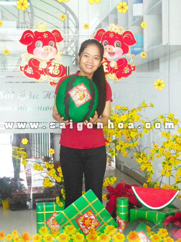Qua Dua Hau Ngay Xuan Ky Hoi