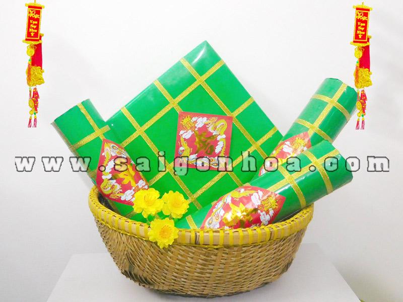 Set Banh Chung Banh Tet
