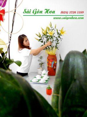Chau Gom Trang Tri