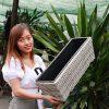 chậu trồng cây sợi mây LAP013