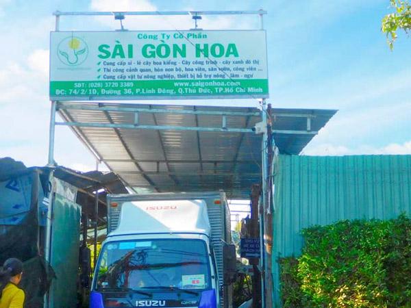 Cong Vuon Sai Gon Hoa