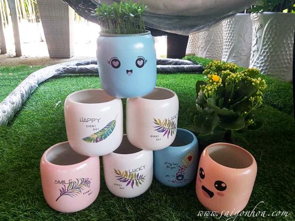 Chau Cup Mieng Bat Trang