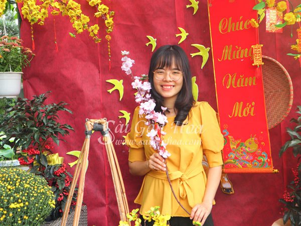 Canh Dao Gia Ngay Tet