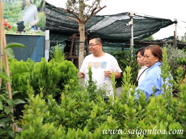 Tết 2020 cùng khách hàng sỉ Sài Gòn Hoa