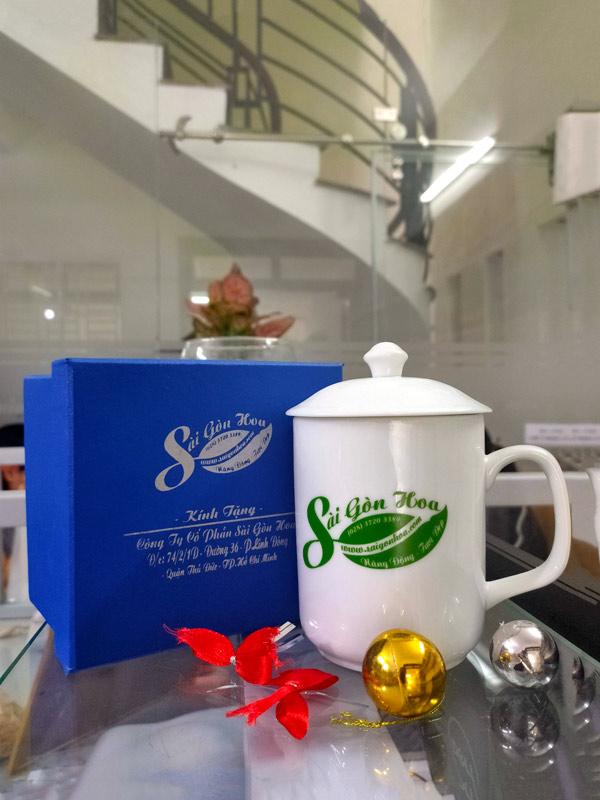 Đón giáng sinh tặng ly xinh cùng Sài Gòn Hoa