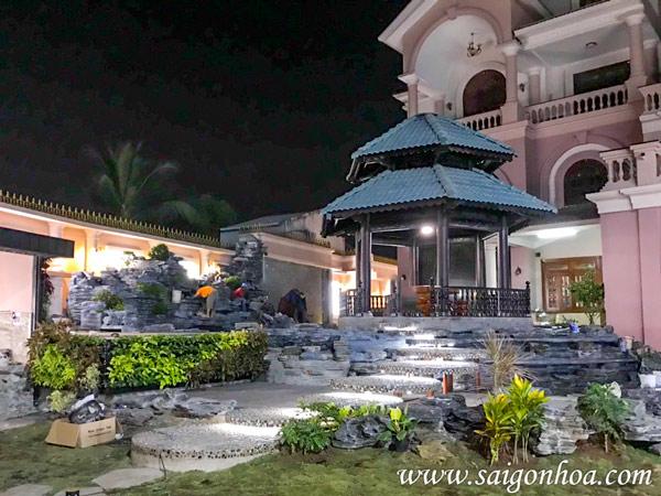 Lap Dat Anh Sang San Vuon