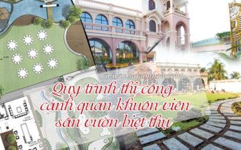 Thi Cong San Vuon Biet Thu Dep