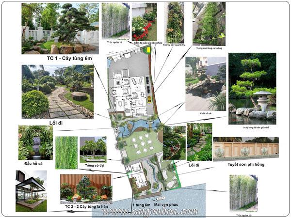 Quy Trình Thi Công Cảnh Quan Khuôn Viên Sân Vườn Biệt Thự