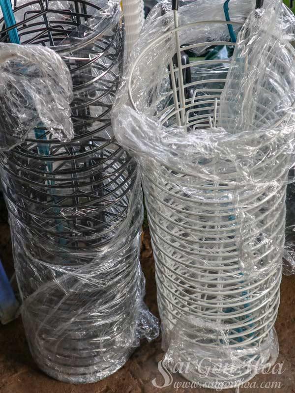Chậu Nhựa Tròn Ban Công
