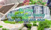 Thi Cong Tieu Canh San Thuong