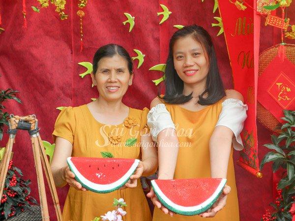 Mo Hinh Dua Hau Ngay Tet
