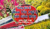 Bang Gia Si Hoa Tet 2021