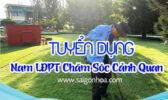 Tuyen Dung Nam Pho Thong Cham Soc Canh Quan