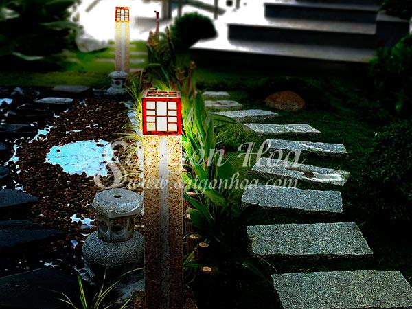 Sân Vườn Trang Trí Đèn