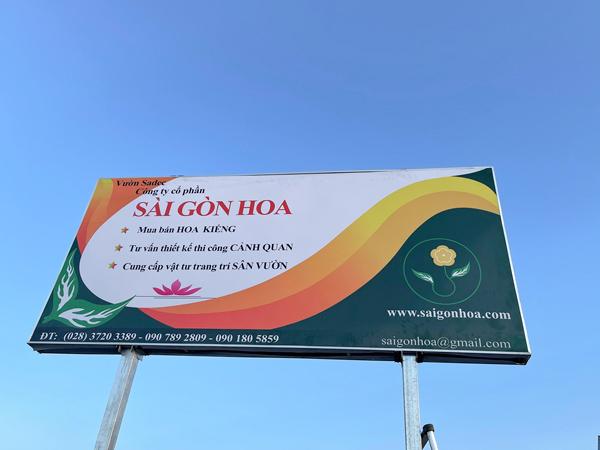 Vườn Sài Gòn Hoa Tại Sadec