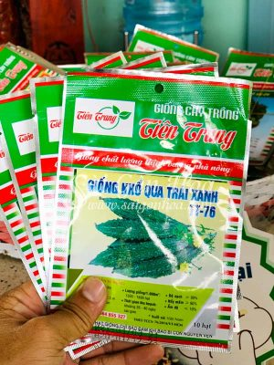 Hat Giong Kho Qua Xanh