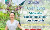 Tuyen Nhan Vien Ban Hang Online