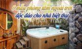 5 Mau Phong Tam Ngoai Troi Doc Dao