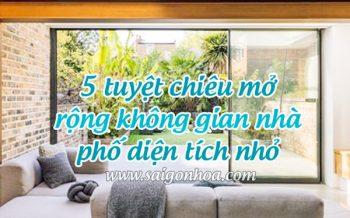 Nha Pho Dien Tich Nho