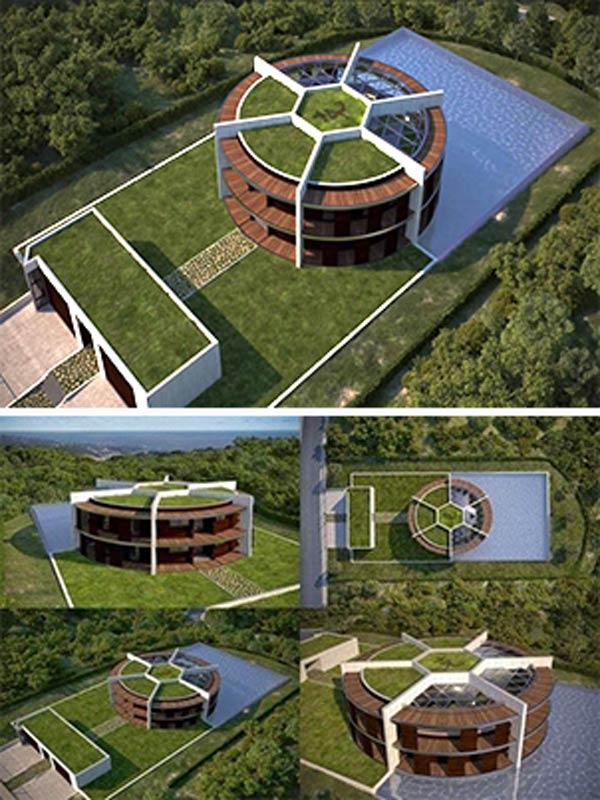 Bộ 10 Sân Vườn Của Các Cầu Thủ Nổi Tiếng Thế Giới